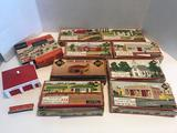 1952 HO Mini Plasticville Kits 9 Units