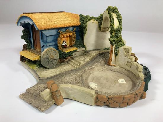 Strombolis Wagon, 1991 Disney Goebel Miniature by Olszewski