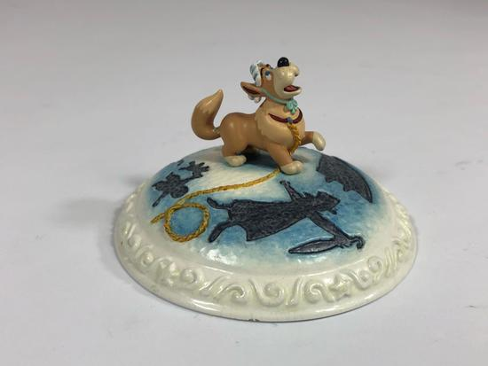 Peter Pan You Can Fly SIGNED Limited Edition Sculpture DC6 2000 Disney Showcase Collection