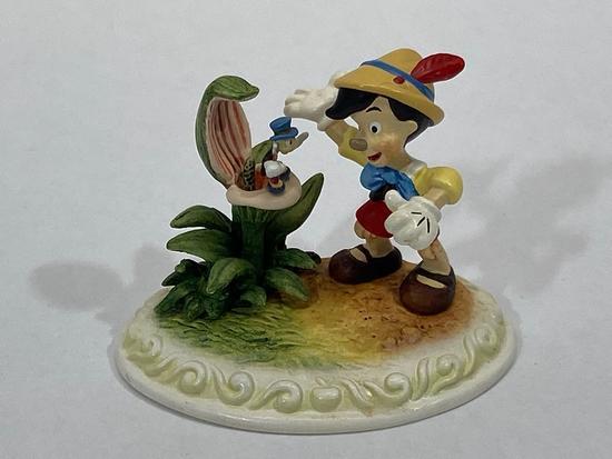 Pinocchio, Signed Limited Edition Disney Showcase Collection Sculpture DC21 by Olszewski