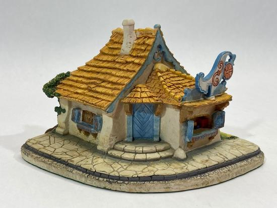Pinocchio, Geppetto?s Toy Shop 965-D, Disney Goebel 1990 Sculpture Signed by Olszewski
