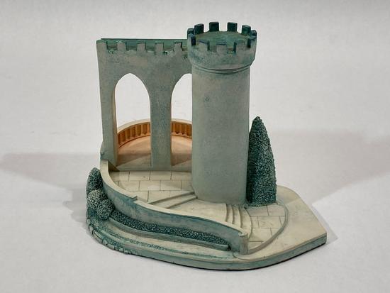 Cinderellas Dream Castle, Disney Goebel 1990 Sculpture 978-D by Olszewski