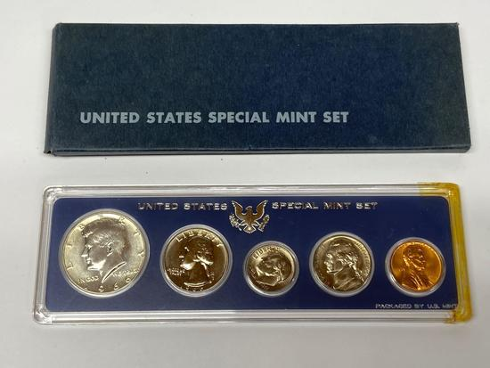 United States Special Mint Set of 1966 Coins in Original Packaging