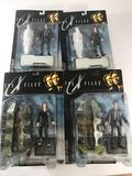 The X Files Mulder And Scully Toys 12 Units