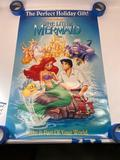 Walt Disney, The Little Mermaid Movie Poster 26x40in