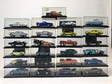 25 Display Die Cast Cars Hot Wheels