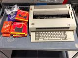 IBM Wheelwriter 6 Series 2 with boxes of Correctable Ribbon & Tape