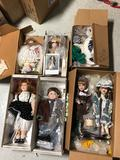 6 Boxes of Dolls & Bears