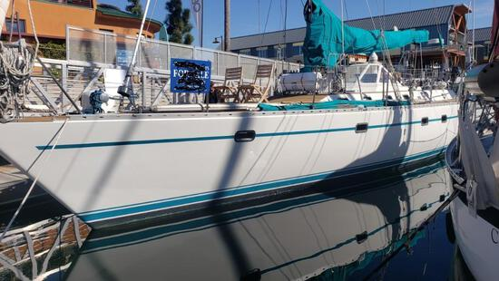 """55ft Sailing Yacht 1985 Tayana 55 CT """"Legacy""""... Seaworthy Magnificent!"""