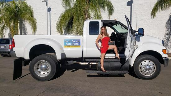 2006 Ford F750 Super Truck Extended Cab