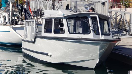 1992 Sea-Ark 28ft Aluminum Work Boat, The Sea Explorer