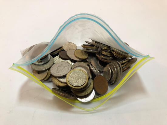 Bag of Coin Currency
