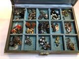 Elegant Box of Costume Jewelry
