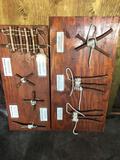 Wood Wall Art Different Lashing Knots 2 Units