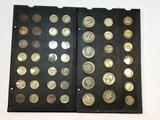 U.S. Coin Collection, Dimes, nickels, quarters. Buffalo coins, Indian heads, etc