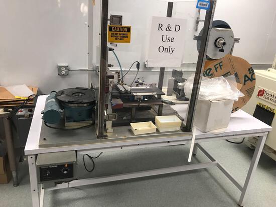 Medical Test Strip Maker Machine