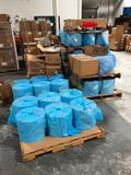 7 Pallets White Foil Packing Material