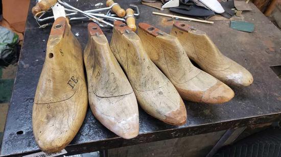 shoe lasts forms 5 units
