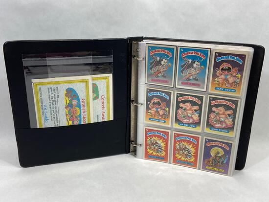Binder of 180+ Garbage Pail Kid Cards