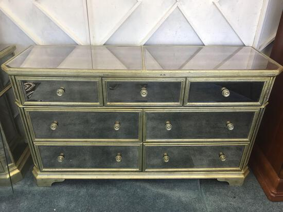 7 Drawer Mirror Dresser