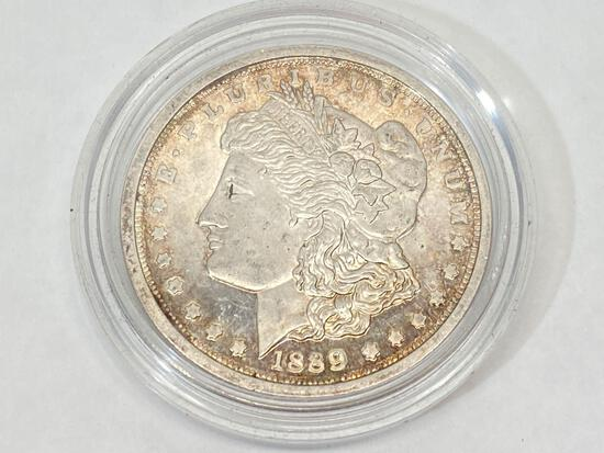 1889 Morgan Dollar, United States silver dollar coin