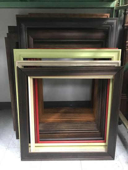 Lot of Wood Picture Frames 23 Units