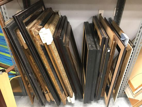 Bay of Picture Frames