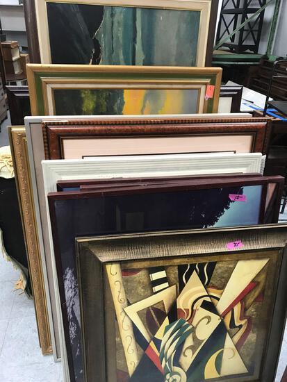 Lot Of Framed Art Paintings