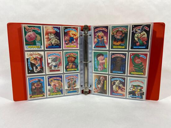 Binder of 270+ Garbage Pail Kid Cards