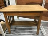 Vintage Wood Table Desk