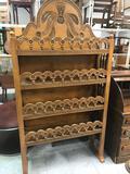 Wood Decorative Carved Shelf