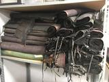 Shelf Full of Pleather Rolls