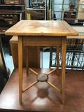 Craftsmen Side Wood Table