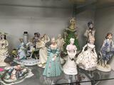 Glassware Figurines 16 Units