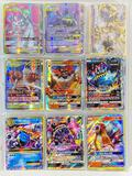 550+ Pokemon Trading Cards, many are Break, EX, GX, Holographic Foil, etc