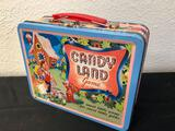 Candy land Game Tin Lunchbox