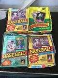 Loose Baseball Cards In Box 4 Units