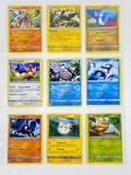 9 Pokemon ERROR Cards, all off center misprints