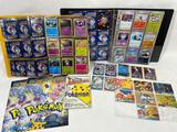 Pokemon binder with Cards, Pokemon Promo Cards & Memorabilia, binder of Japanese cards