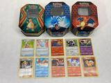 Pokemon Trading Card Game Tins & 200+ Cards
