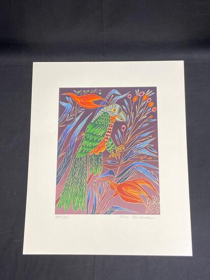 Signed Limited Edition Serigraph on Paper 430/750, Art by Yuri Gorbachev, 15x18in