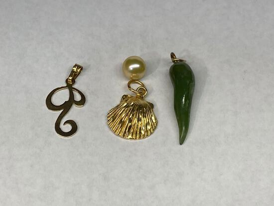 3 Necklace Pendants
