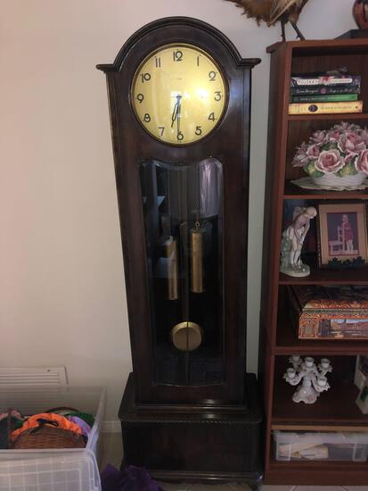 Antique Kienzle Grandfather Clock 6ft tall