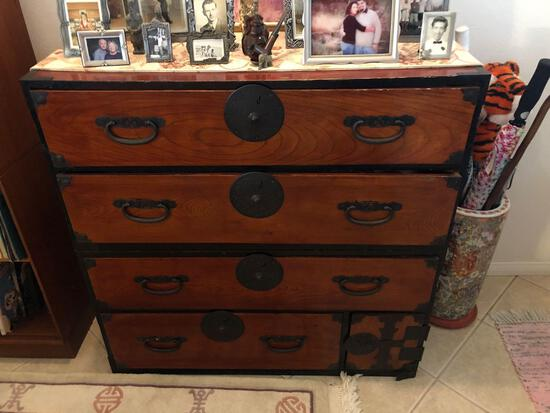 Japanese Tonsu Dresser Chest