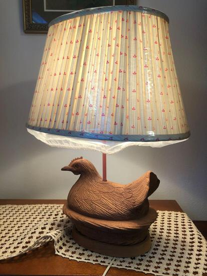 Chicken Hen Lamp