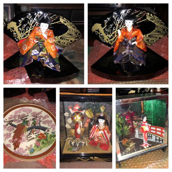 Lot of Hakata Dolls