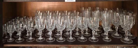 Shelf Contents, Drinking Glass Set