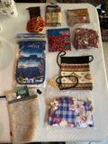 Lot of Handmade Foreign Handbags