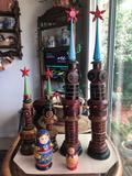 Russian Toys, Kremlin Towers, Nesting Dolls