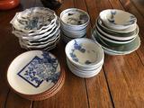 Lot of Japanese Porcelain Plates & Bowls